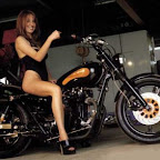 Erg mooie dame, ehh fiets