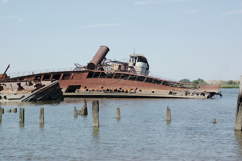 High Tide Staten Island Ferry