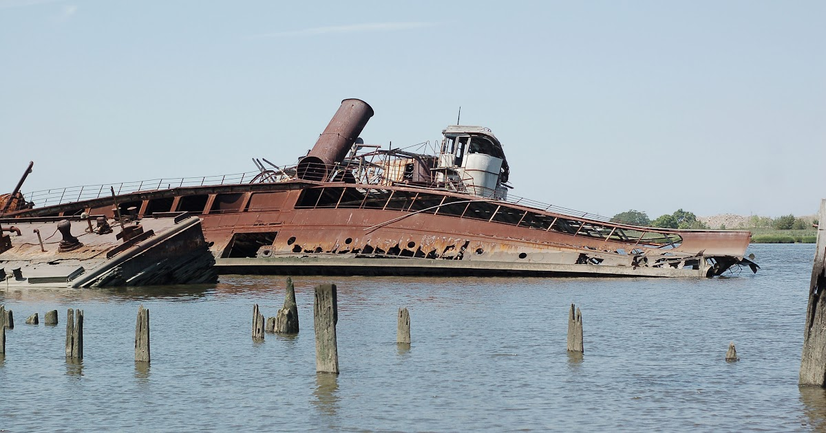 Staten Island Boat Graveyard How To Get There