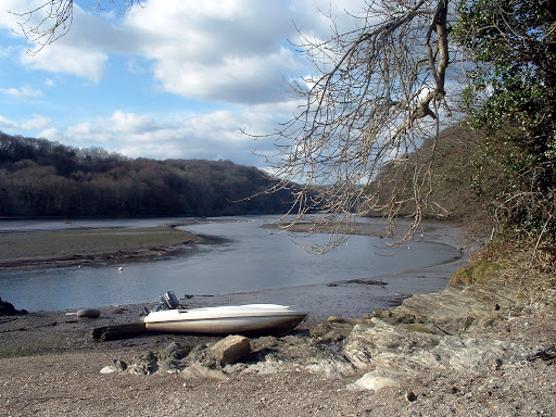 View from St Winnow, Cornwall