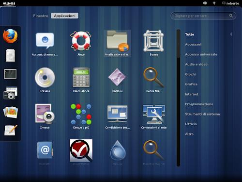 Paldo Linux panoramica attività
