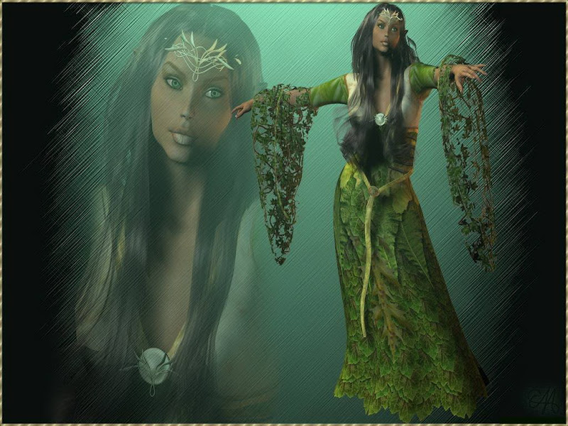 Green Wicca Dance, Green Witches