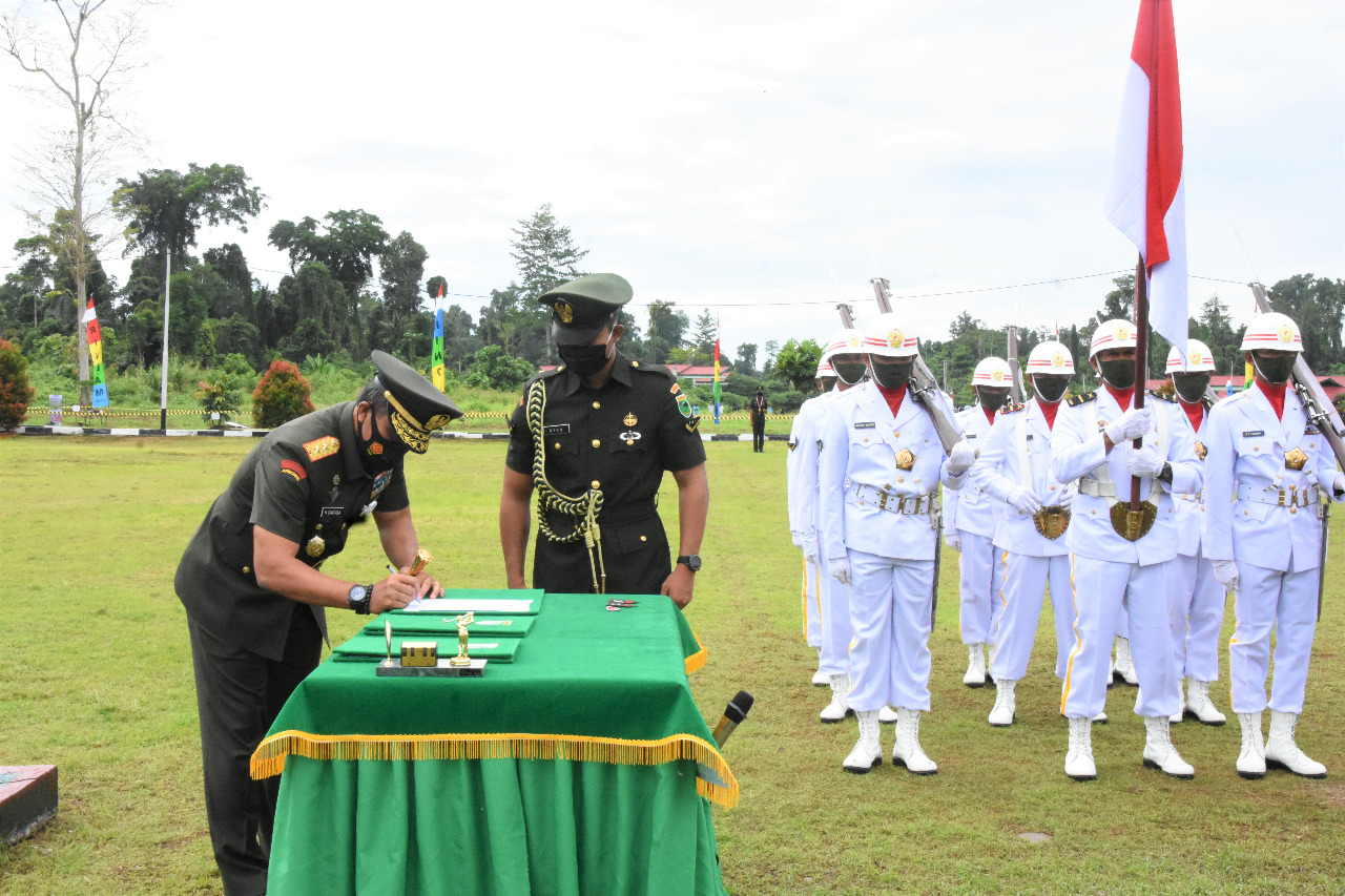 Pangdam XVIII/Kasuari: Kalian Pemuda Indonesia yang Terpilih untuk Bergabung dengan TNI AD