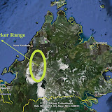 Le Crocker Range au Sabah (Malaisie) au nord de Bornéo