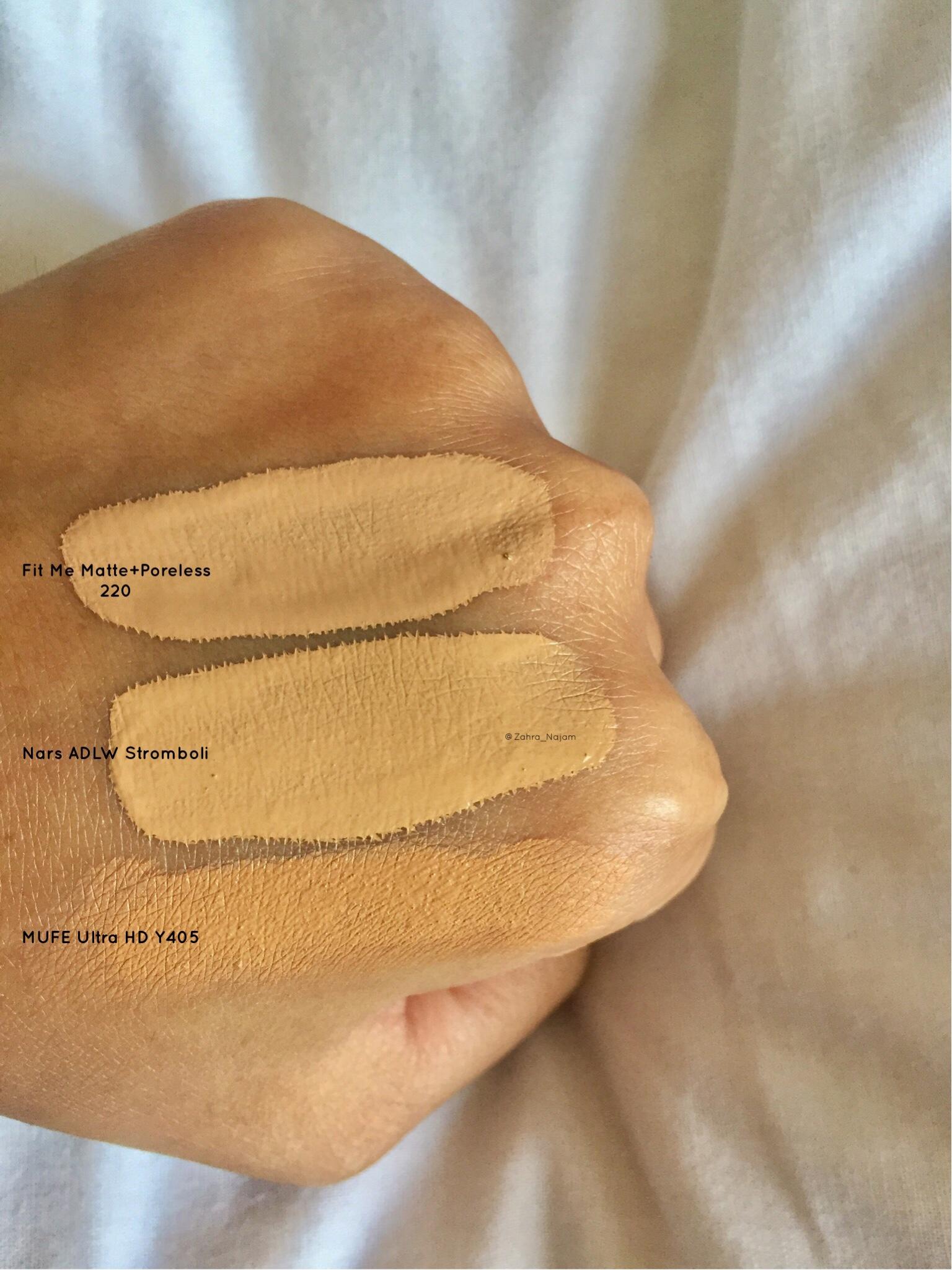 Mufe Hd Ultra Fluid Foundation In Y405 Golden Honey