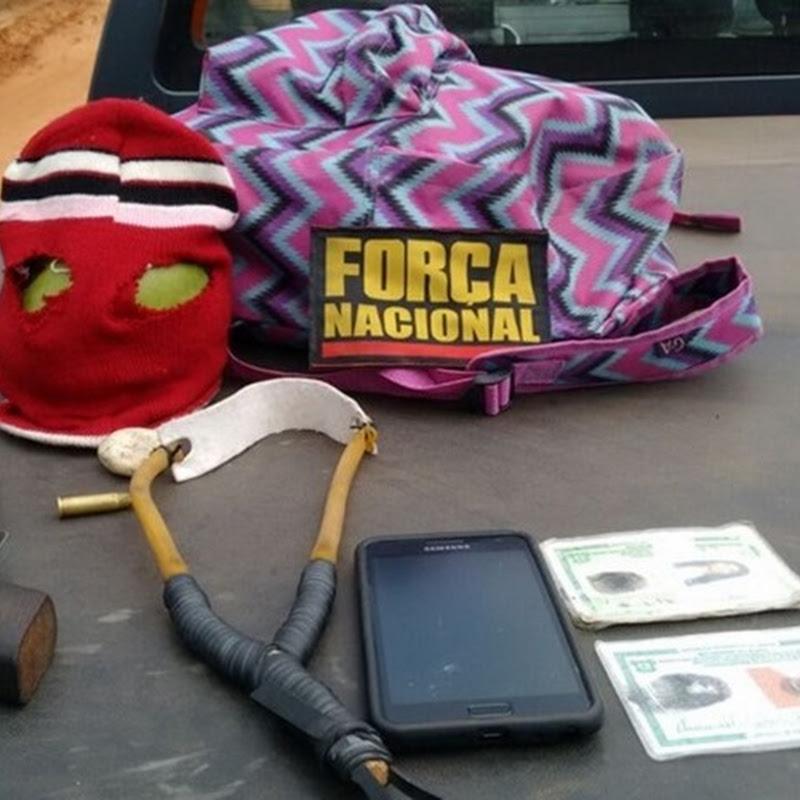Força Nacional detém dupla tentando arremessar arma em Alcaçuz