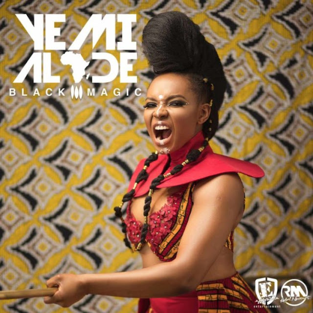 "Yemi Alade Releases Cover Art & Tracklist For Forthcoming Album ""Black Magic"""