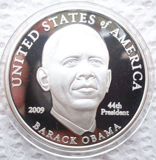 How Obama will appear on a U.S. coin
