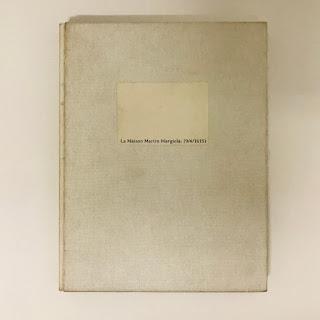 La Maison Margiela RARE 1st Ed. Museum Boijmans Van Beuningen Catalog