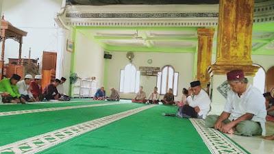 Libatkan Semua Tokoh, Pengurus Masjid Al-Yaqin Siabu Adakan Musyawarah Sambut Idul Fitri 1442 Hijriyyah