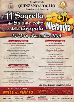 Sagretta del Salame Cotto e della Grepola dal 14 al 16 novembre Quinzano d'Oglio