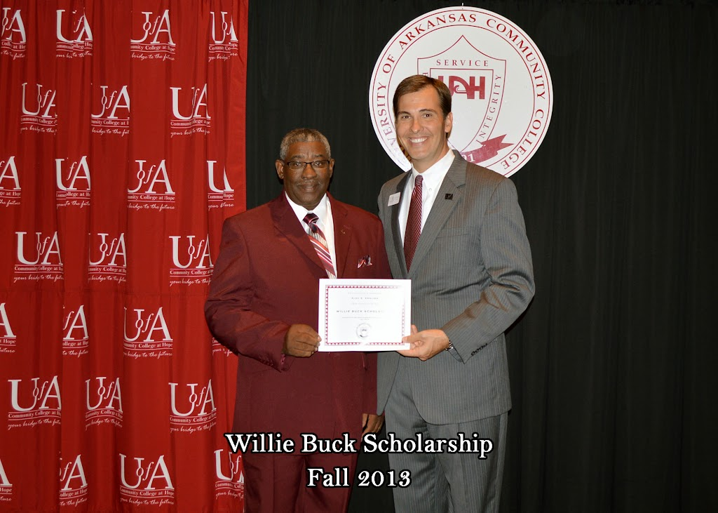 Scholarship Ceremony Fall 2013 - Willie%2BBuck%2BScholarship.jpg