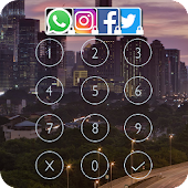 Messenger Lock (X City Theme)