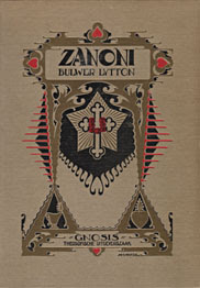 Cover of Edward Bulwer Lytton's Book Zanoni