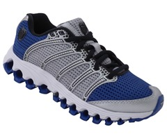 Kids (Boys and Girls K Swiss Tube Run 100 Jr. Running Shoes