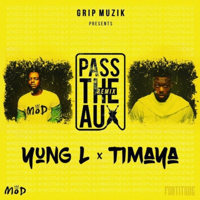 "Yung L – ""Pass The Aux"" (Remix) ft. Timaya"