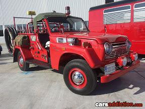 Toyota Land Cruiser Fire Truck