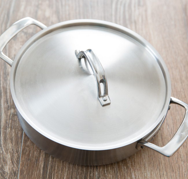 photo of the pan with the lid