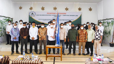 Ikatan Mahasiswa  Samalanga Simpang Mamplam (IMSAM) Pengurus periode 2020/2022 Resmi dilantik