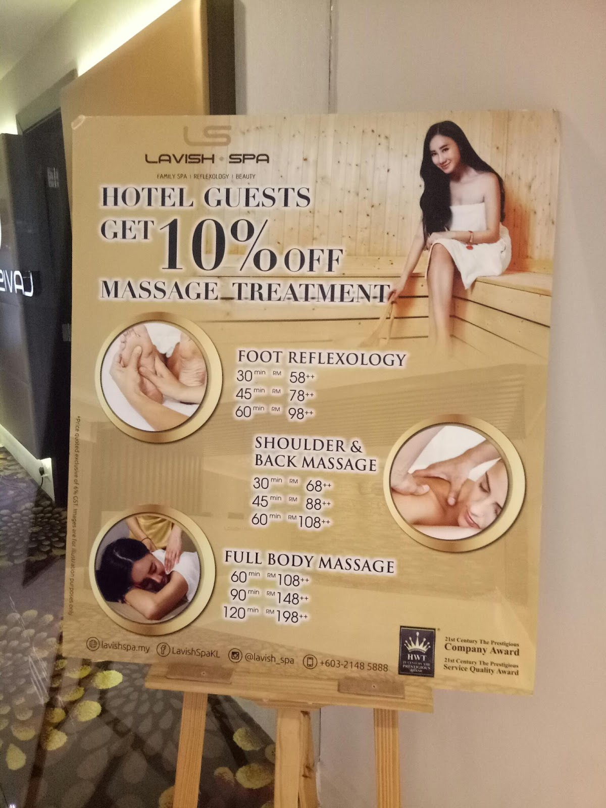 Jes One Stop: Lavish spa - 6 hours relaxation