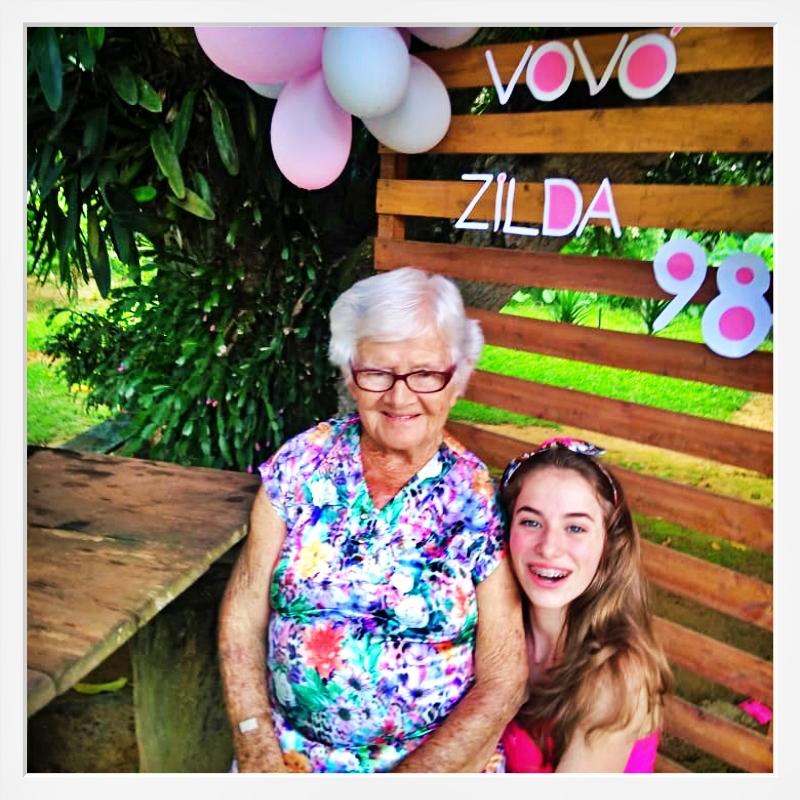 Que alegria: 98 Anos da Vovó Zilda!