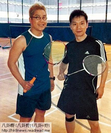 去年香港羽毛球公開賽,林曉峰和趙增熹也有參加三十五歲以下組別的比賽。