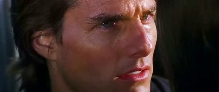 Screen Shot Of Hollywood Movie Mission: Impossible II (2000) In Hindi English Full Movie Free Download And Watch Online at Alldownloads4u.Com