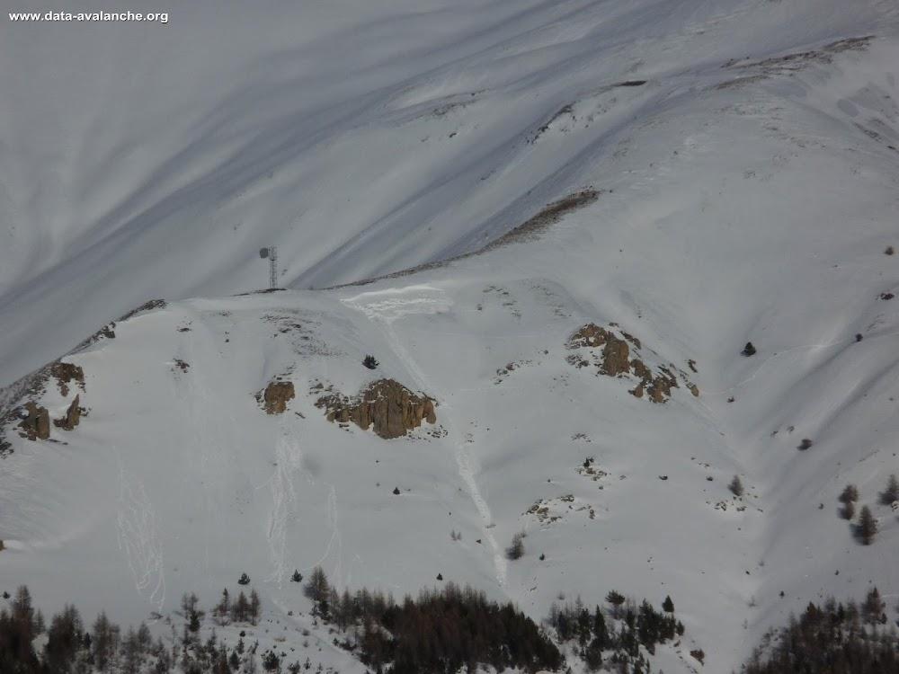 Avalanche Queyras, secteur Pointe de Rasis, Ceillac - A proximité du pylône - Photo 1 - © Portier JB