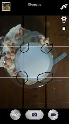 Memotret dengan kamera HP
