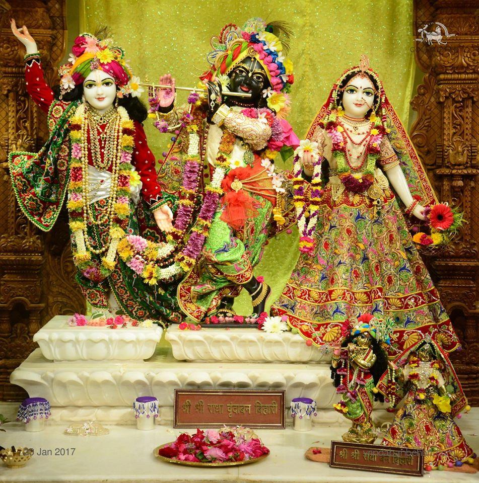 ISKCON GEV Deity Darshan 20 Jan 2017 (22)
