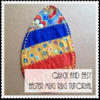 Easy Easter Mug Rug