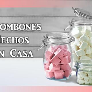 Receta para hacer Marshmallows en casa (Malvaviscos, Bombones, Nubes)