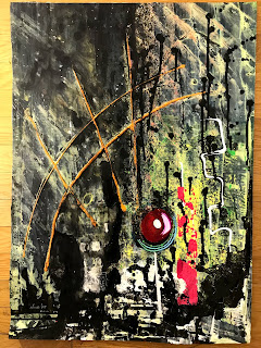 Signed Abstract Oil