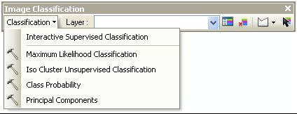 image classification toolbar