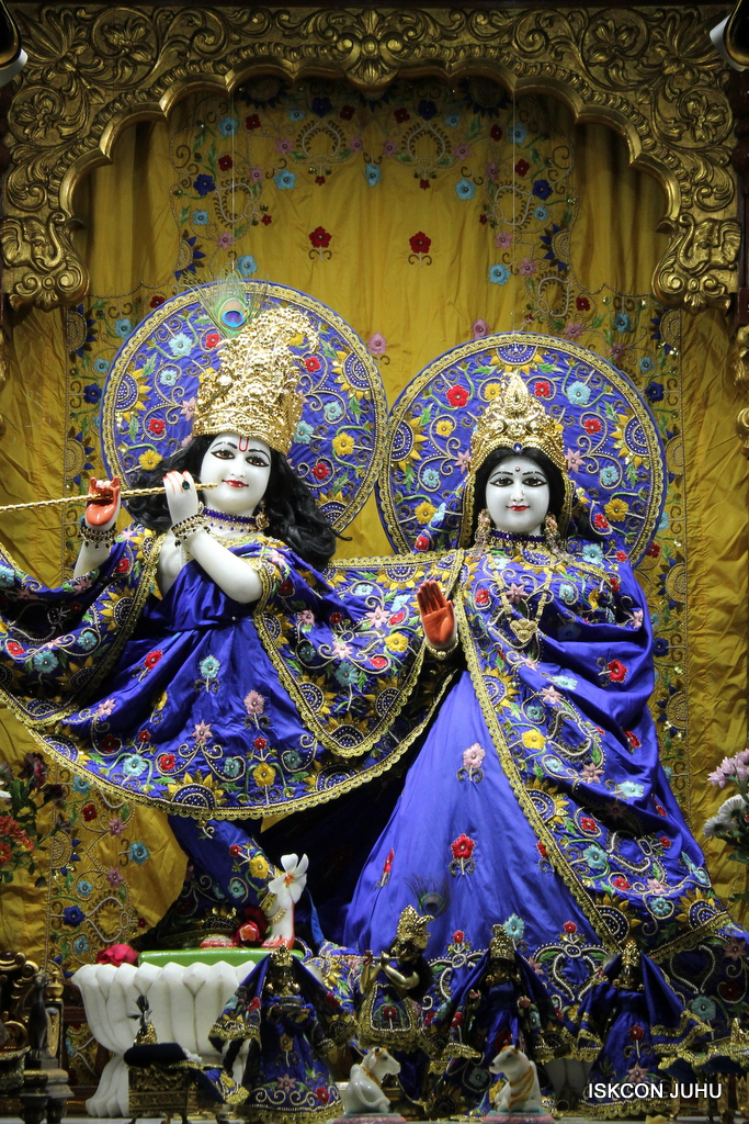 ISKCON Juhu Sringar Deity Darshan on 2nd Oct 2016 (15)