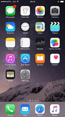 Apple iOS 9 upgrade