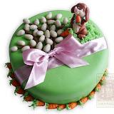 4. kép: Ünnepi torták - Nyuszi répával torta