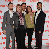 OIC - ENTSIMAGES.COM - Jon Drever, Ruth Sheen, Brett Goldstein, Natalia Tena and Chritian Contreras  at the LOCO Superbob UK film Premiere Q and A at BFI London 24th January 2015 Photo Mobis Photos/OIC 0203 174 1069