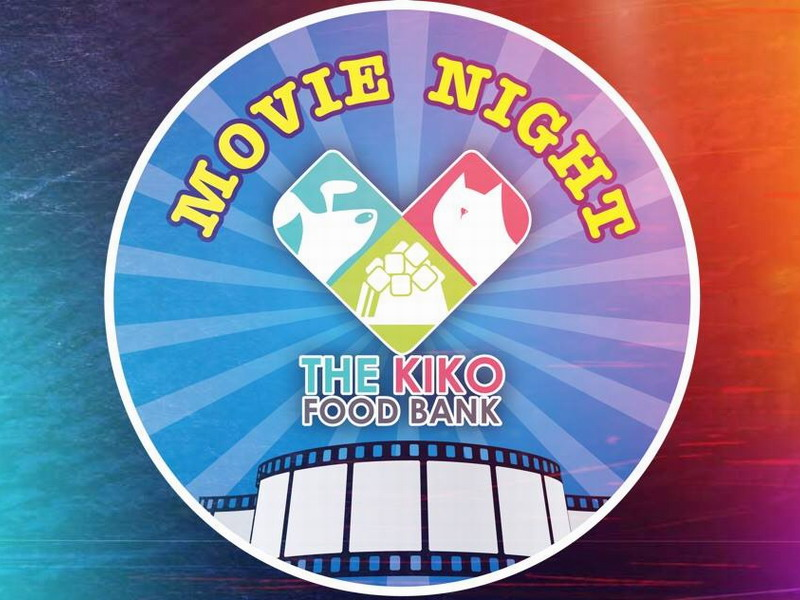 Announcement: The Kiko Animal Food Bank Charity Movie Night