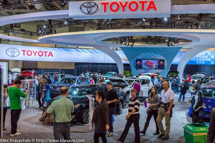 Выставка Toyota