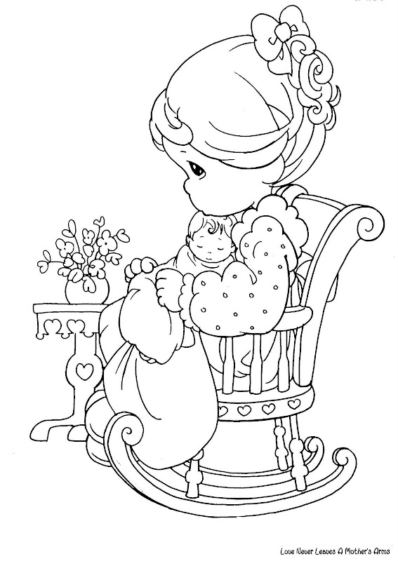 precious moments coloring pages military - photo#17