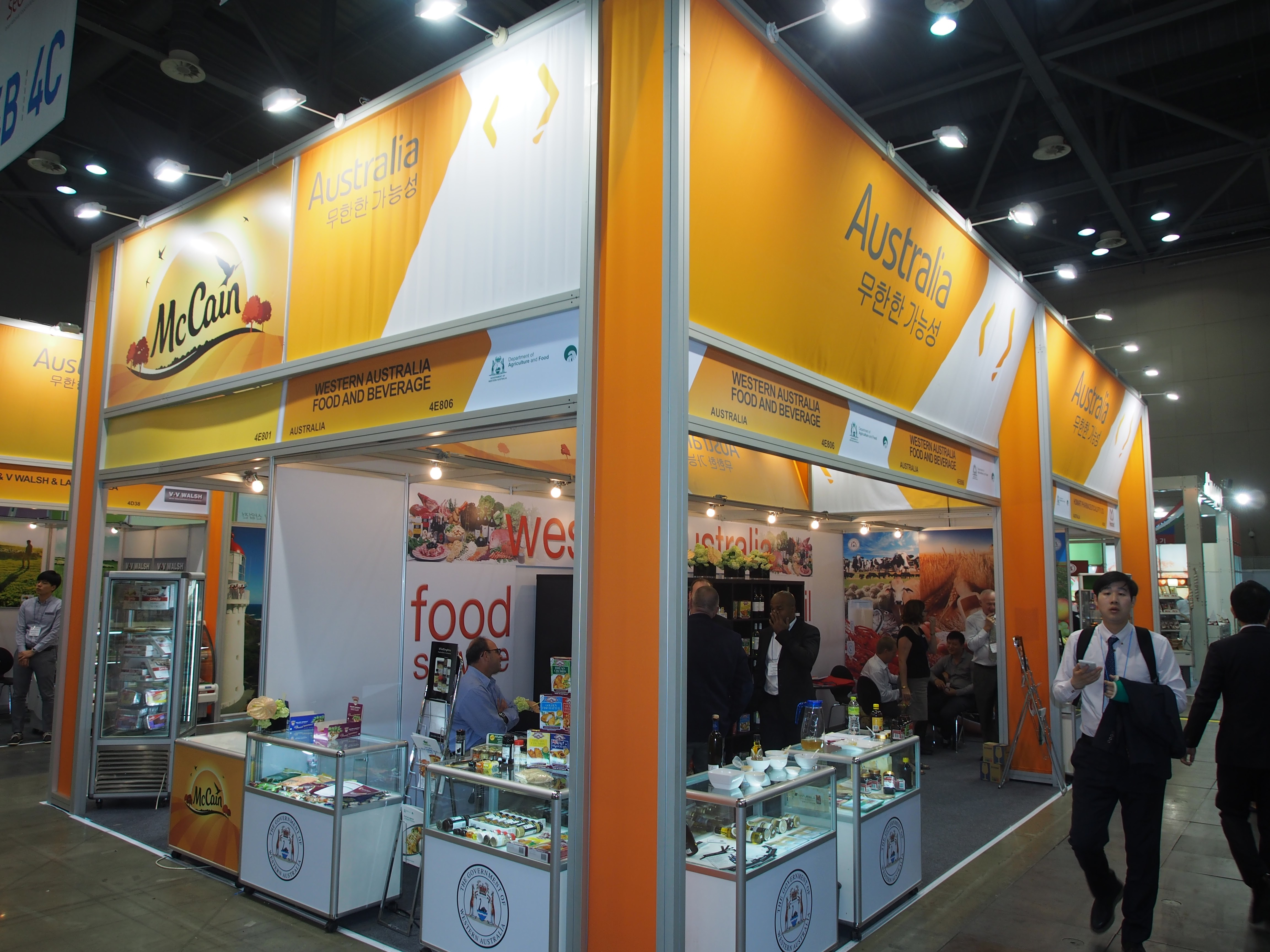 Expo Stands Australia : Seoul food hotel may export solutions