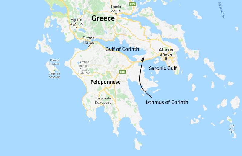 corinth-map