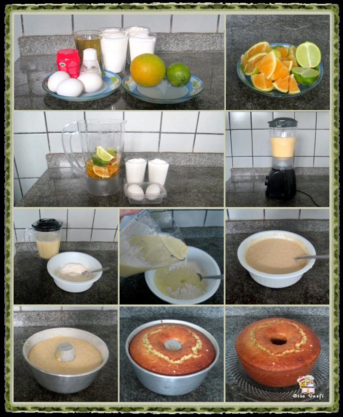Bolo de laranja e limão 3