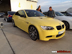 Yellow BMW M3