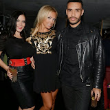 WWW.ENTSIMAGES.COM -   Dani Thompson, Aisleyne Horgan-Wallace and Danni Res   at     Celebrity loved fashion label; Lasula Boutique at The Rose Club, London October 17th 2013                                                   Photo Mobis Photos/OIC 0203 174 1069
