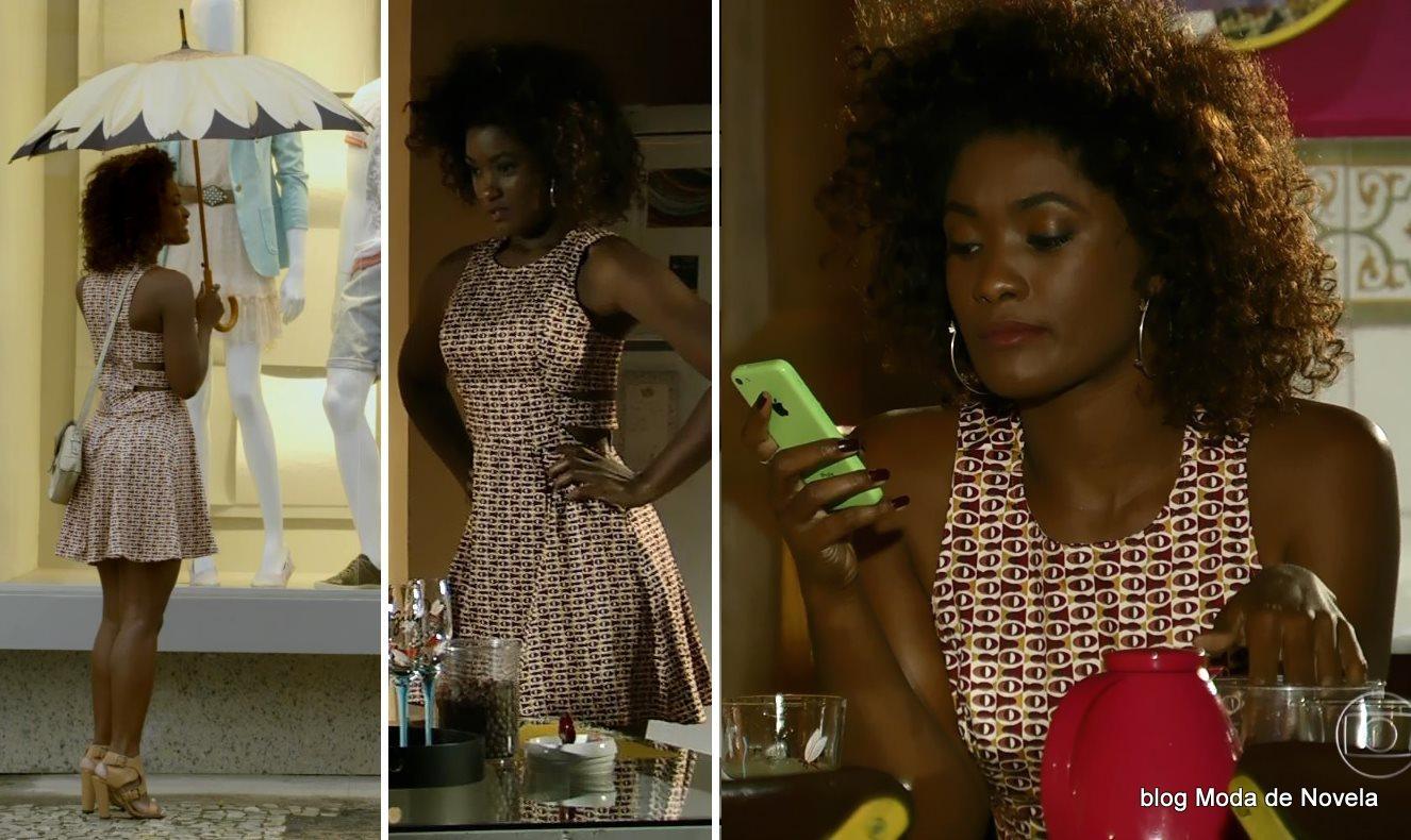 moda da novela Em Família - look da Alice dia 26 de junho