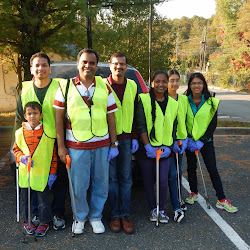 2014-10-18 KAGW Adopt-A-R​oad Program 2014 - Cipriano Road Clean-up