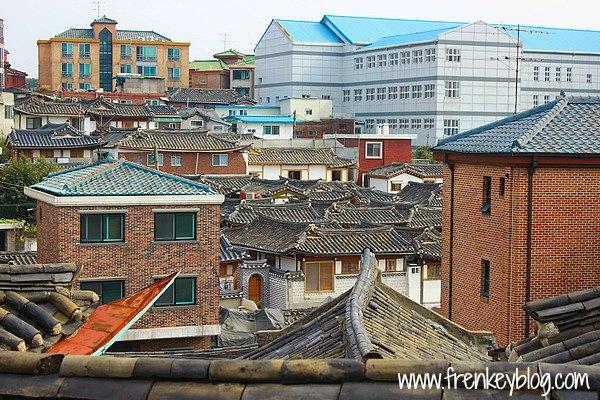 Pemukiman Warga di sekitar Bukchon Hanok Village