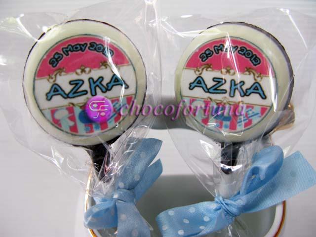 Coklat Edible Baby Born-Azka